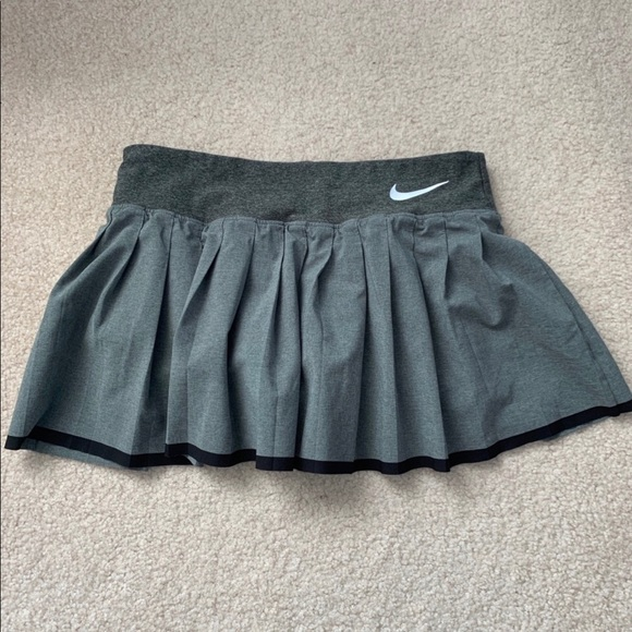 Nike Grey Tennis Skirt